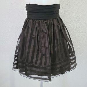 Betsey Johnson Organza Layer High Waisted Skirt 2